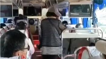 獨/遲到、國道逼回頭 男國旅大鬧遊覽車遭列黑名單