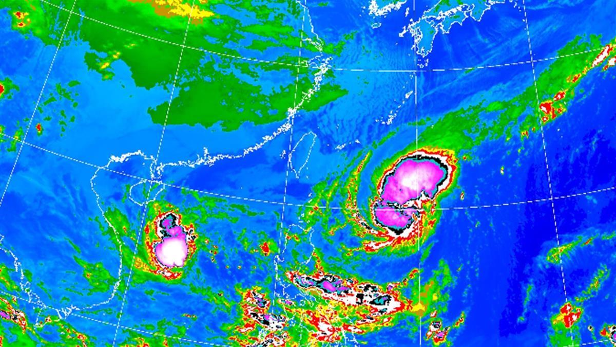 低溫16度!閃電颱風侵台率破30% 不排除發布海上警報