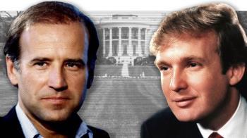 美國大選:川普與拜登 老照片中的過往歲月
