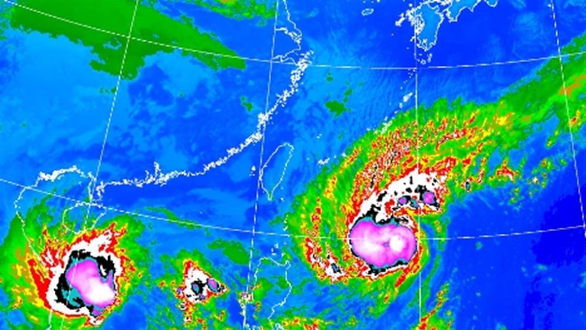 閃電颱風不打轉了!巔峰時刻最接近台 恐發陸上警報