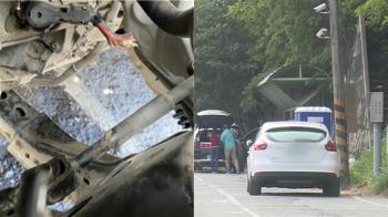 剪斷電線油管煞車!綠島客停過夜回台 數車遭破壞