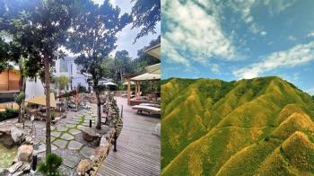 宜蘭「呆水溫泉」在房間就能欣賞抹茶山 露天美人湯根本是京都祇園