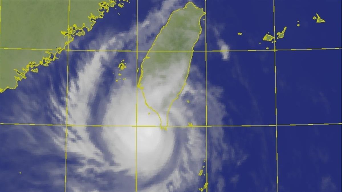 「閃電」颱風今最接近!氣象局對3縣市發布豪、大雨警報