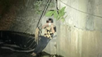 毒販遇警嚇壞!下秒跳2樓高大排 拐傷反求救援