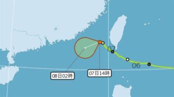 颱風閃電減弱仍影響澎湖 東吉島單日雨量破紀錄