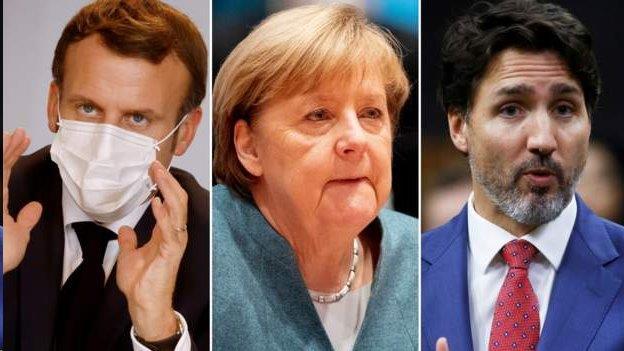 美國大選:多國領導人恭賀拜登 部份國家沉默