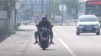 靠右騎路肩竟收紅單 騎士:太瞎了 不然要騎哪裡
