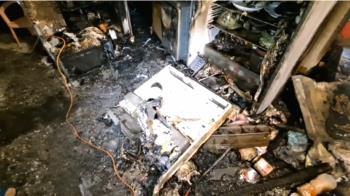 疑除濕機使用不慎引火警  急疏散11人幸無人傷亡