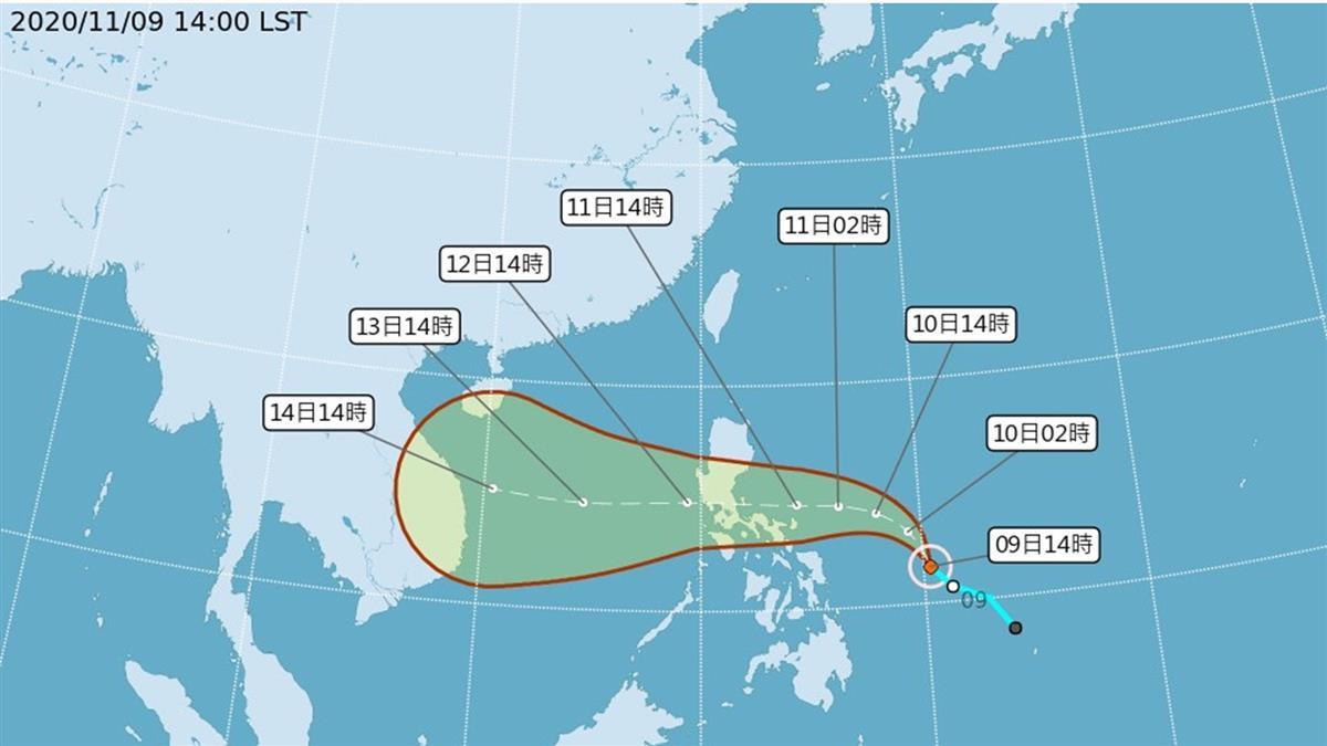 一日兩颱生成 氣象局:屬正常情況