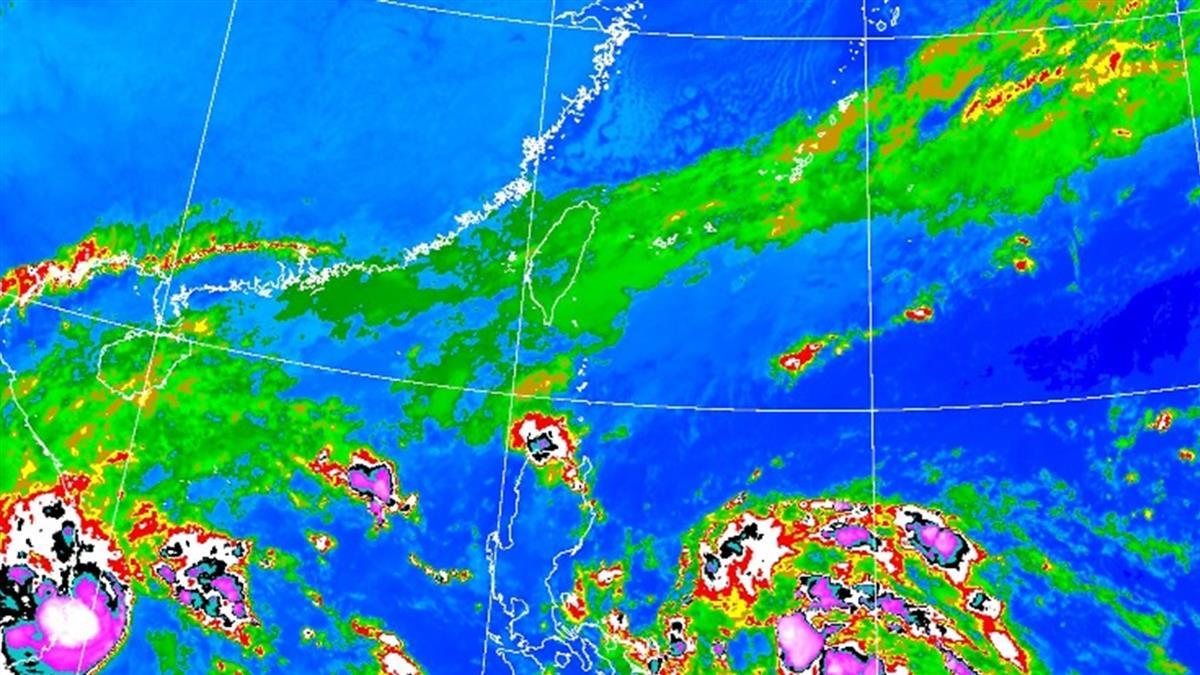 今晨16.3度!梵高恐轉中颱 這天起雨連炸3天