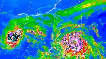 梵高最快明轉中颱!外圍水氣北抬 「全台有雨」時間點出爐