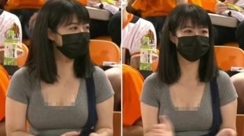 統一獅球迷太火辣吸導播狂拍「U領緊身上衣」清晰照讓網瘋狂