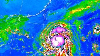 梵高今將轉中颱!這兩天水氣狂增 降雨熱區出爐
