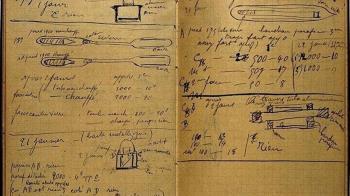 居禮夫人百年前筆記本曝光 輻射將持續1500年