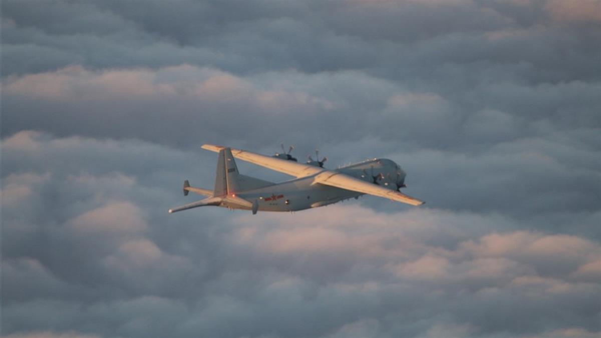 2架共機侵犯台灣西南防空識別區 空軍兵力應對