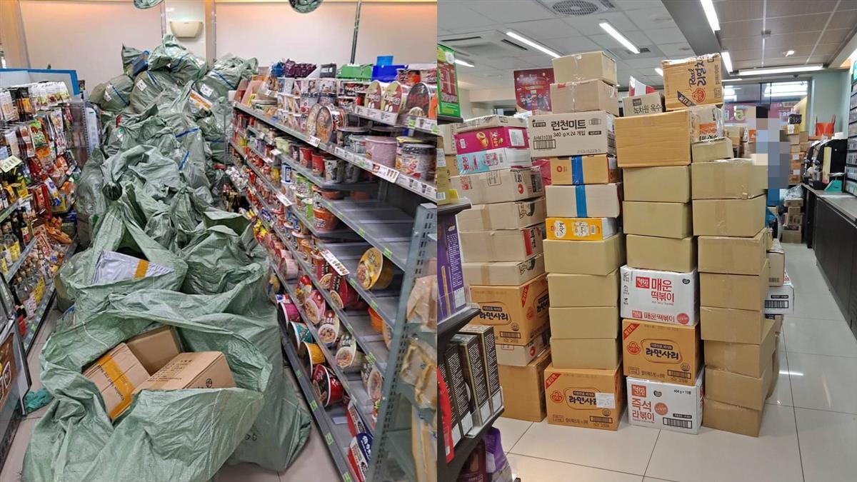 雙11買爆!超商店員被包裹淹沒 網慚愧:我也貢獻5箱