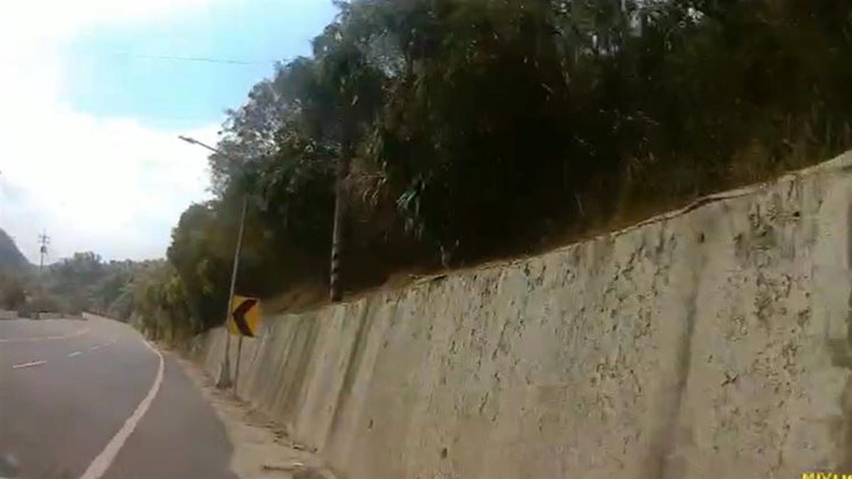 快訊/台20線車禍!台南駕駛失控飄移 撞山壁慘死