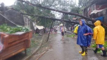 颱風梵高暴雨淹沒馬尼拉民房 菲律賓至少13死