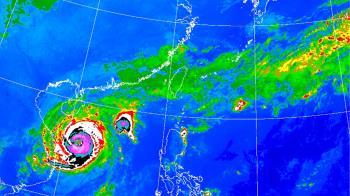 梵高外圍雲系接近!沿海風浪強 降雨熱區出爐