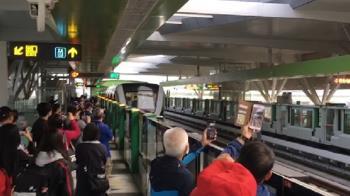 台中捷運試營運首日!持電子票證免費搭1個月