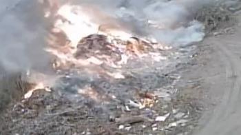 垃圾場大火非自燃 竟是看不順眼縱火