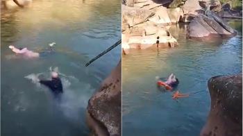 見義勇為搶救溺水女大生 英國駐重慶總領事爆紅