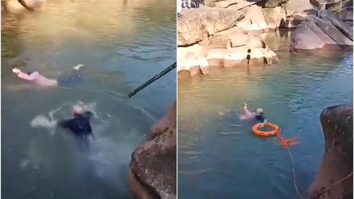 61歲英國駐重慶總領事跳河救人!影片曝光被讚爆