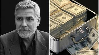 是真的!喬治克隆尼送14位好友每人100萬美元現金