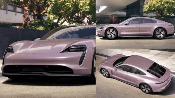 跑車也能讓少女心噴發!保時捷電動跑車「甜美冰莓粉嫩色」將登場