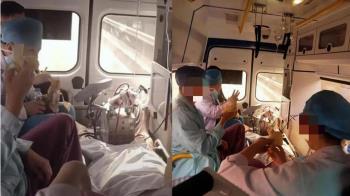 醫護人員救護車吃香蕉挨轟!他無奈揭辛酸:7小時沒吃喝