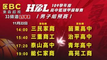HBL預賽第四天!上屆冠亞隔空較勁 精彩賽事在東森超視
