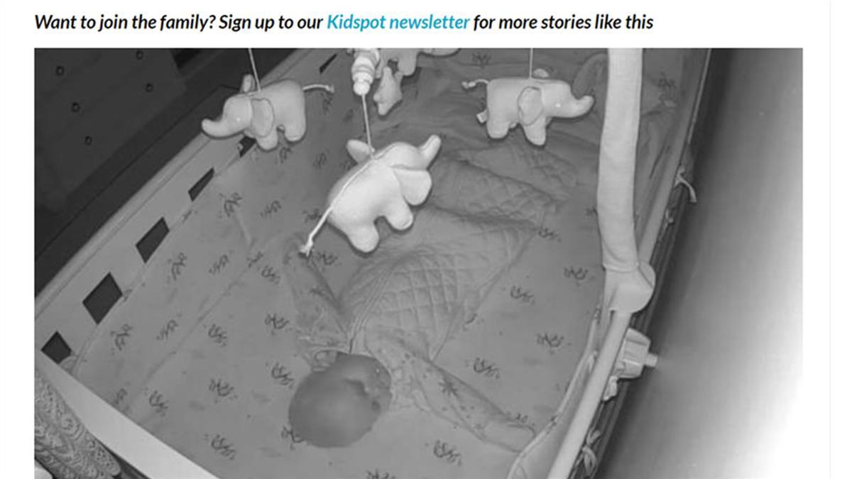 寶寶監視器半夜傳聲音!陌生男偷窺喊這句 媽一聽嚇瘋