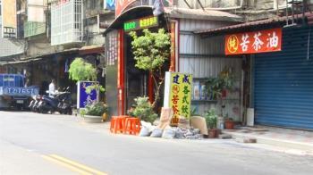 寺廟蓋在人行道!民檢舉控違建 區公所竟稱:地方特色