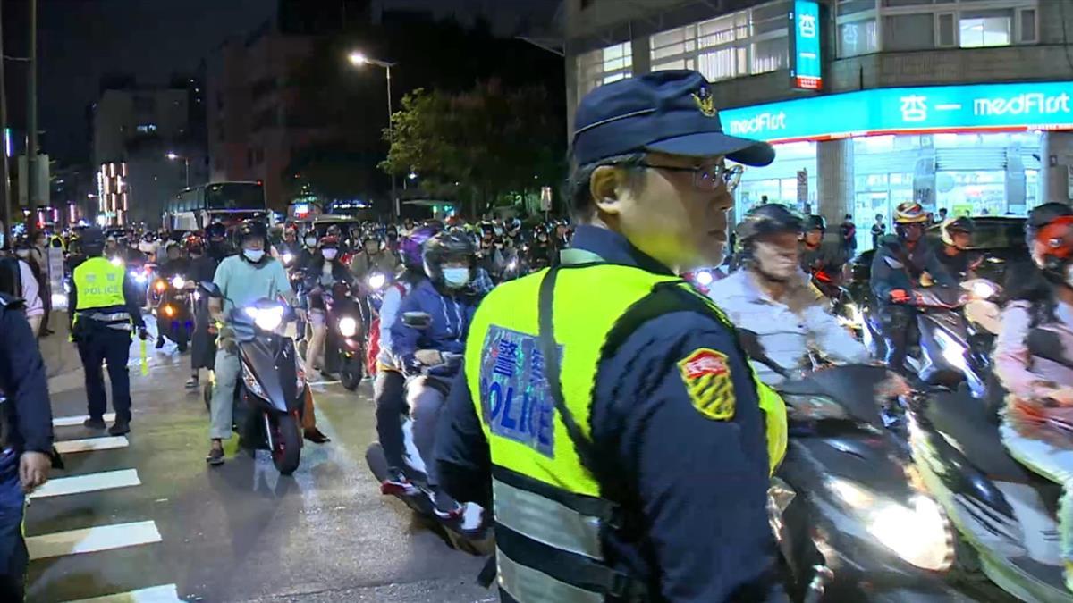 快訊/下班注意!台北「待轉大富翁」塞爆 警出動300人管制