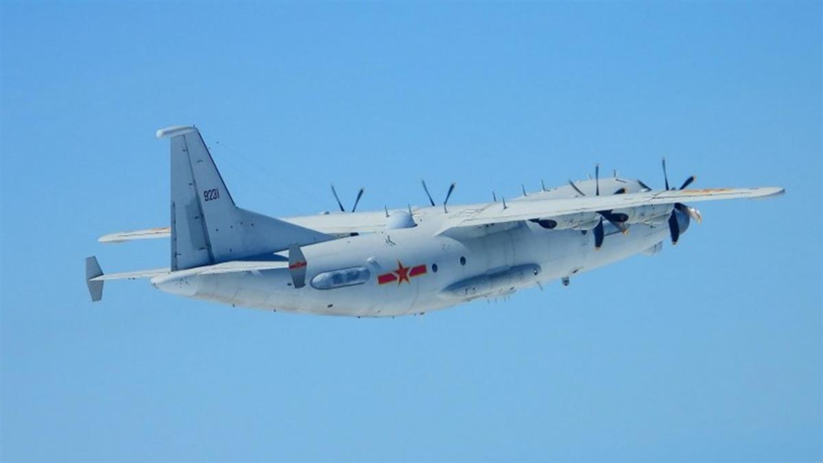 共機2架慢速機擾台ADIZ 空軍戰機監控