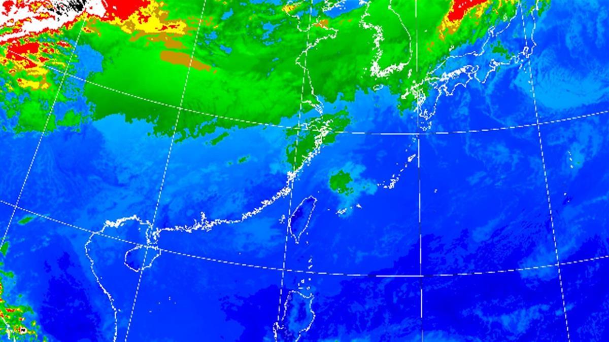 今晚變天!東北季風來襲周五探16度 全台降雨熱區出爐