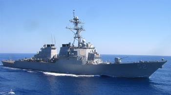 美艦貝瑞號通過台海 指揮官稱確保各國航行自由