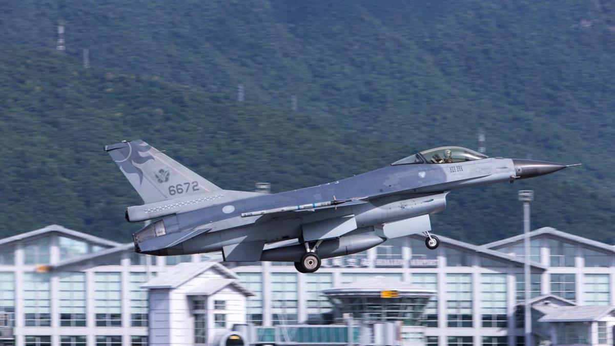 F-16失蹤6天!空軍花蓮同隊機工長寢室輕生亡