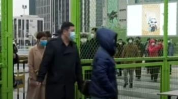 上海浦東機場連夜核酸檢測 場面一度混亂