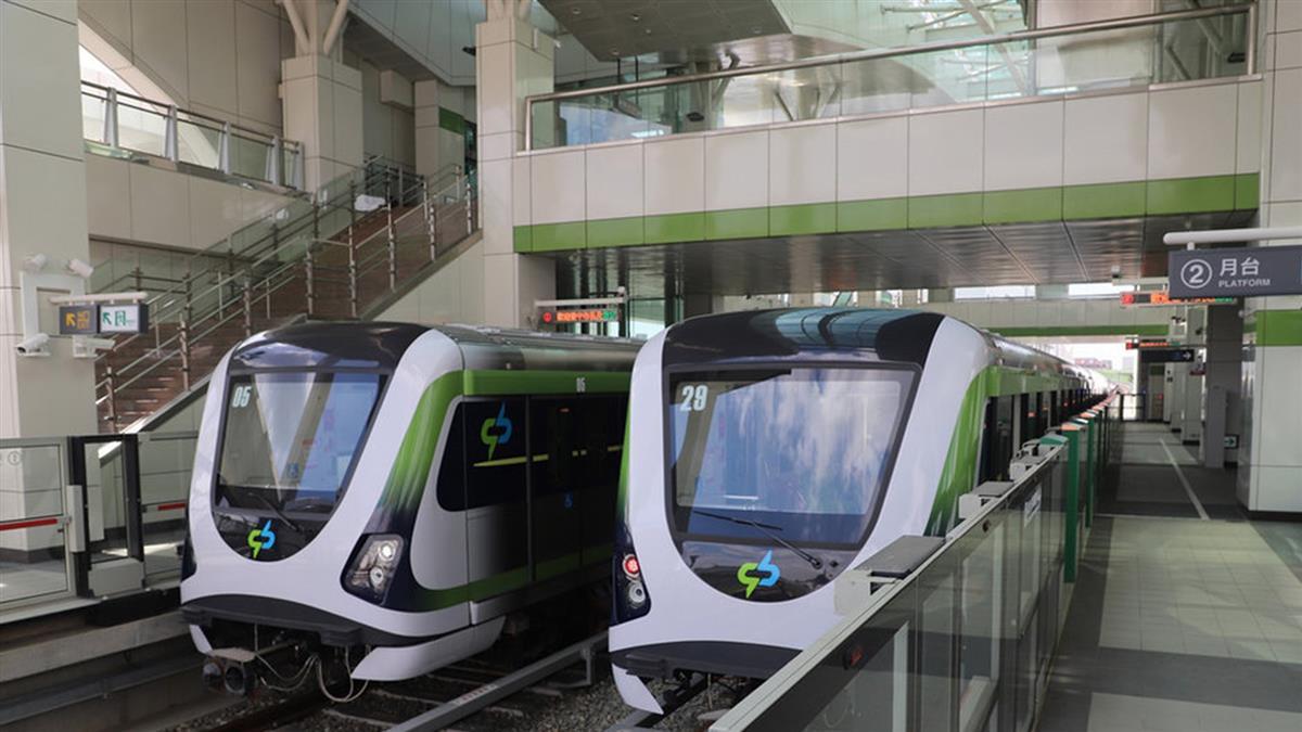 中捷綠線列車全面安檢 最快30日後恢復試營運
