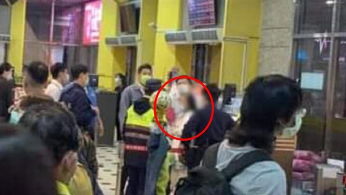 「蘇大媽」大鬧台北轉運站!狂嗆站務員遭警帶回…派出所繼續歡
