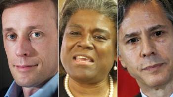 拜登外交核心三人組:選擇清一色歐巴馬老部下意味著什麼