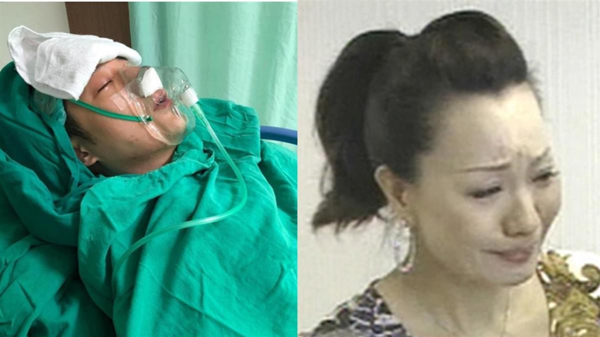 周湯豪送醫開刀!抽搐戴氧氣罩 媽媽比莉痛訴病況