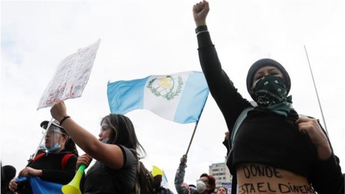 新冠疫情下瓜地馬拉內政危機 台灣海峽兩岸均關注