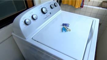 獨/半夜洗衣機自動運轉!小孩一看嚇喊:是不是有鬼