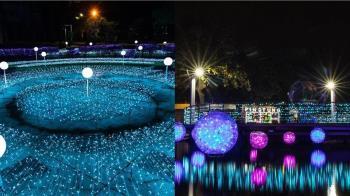 「2020屏東聖誕節」夢幻極光降臨!10大聖誕燈飾場景變身浪漫雪國