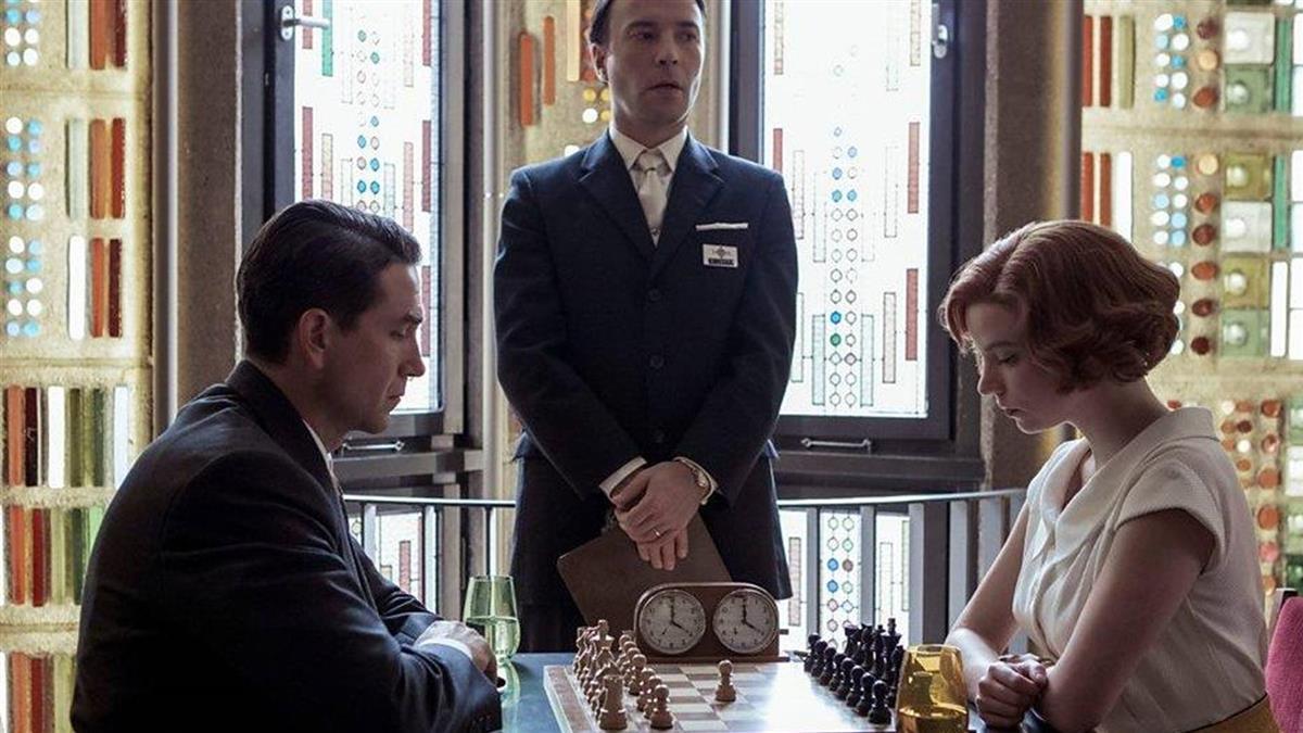 現實版「後翼棄兵」 國際象棋女棋手