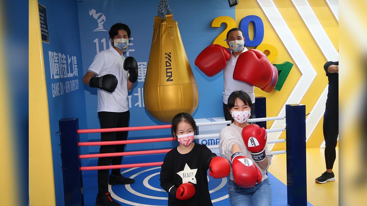 街頭擂台現身耶誕運動派對 奧運拳擊國手林郁婷重磅出擊