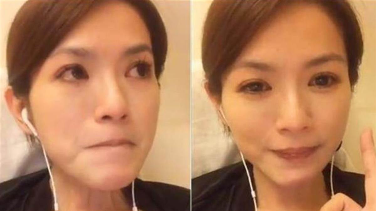 44歲星卉突宣布喜訊!崩潰大哭告白:怕來不及說再見