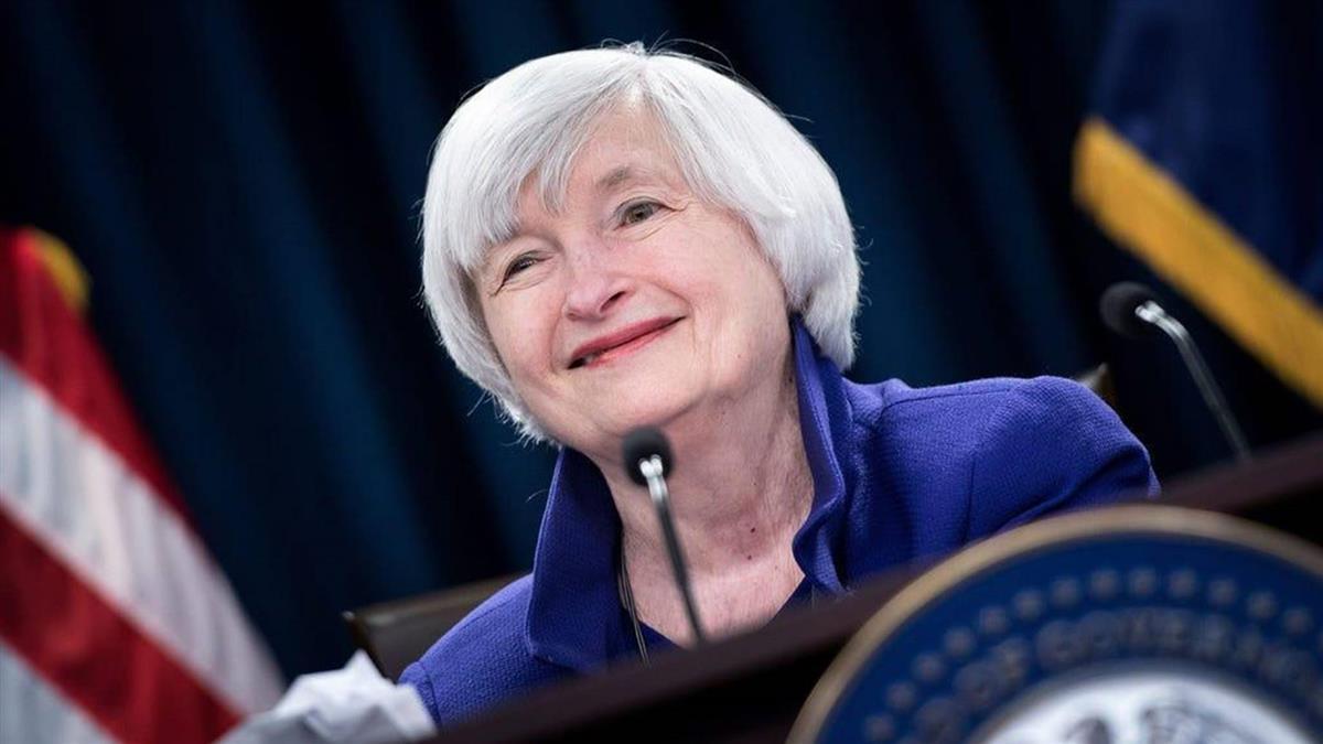 美歷史新頁!拜登宣布前Fed主席葉倫出任新財長